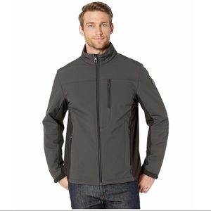 Tumi Stretch Softshell Jacket W/ Fur Lining Medium